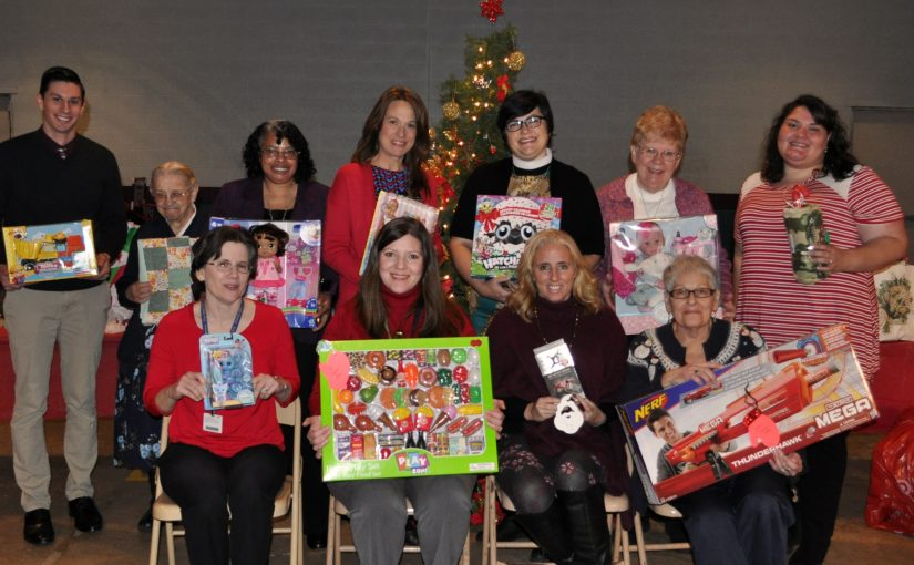 Area Church Congregations Donate to G.A. Family Services Foster Care Angel Tree Program